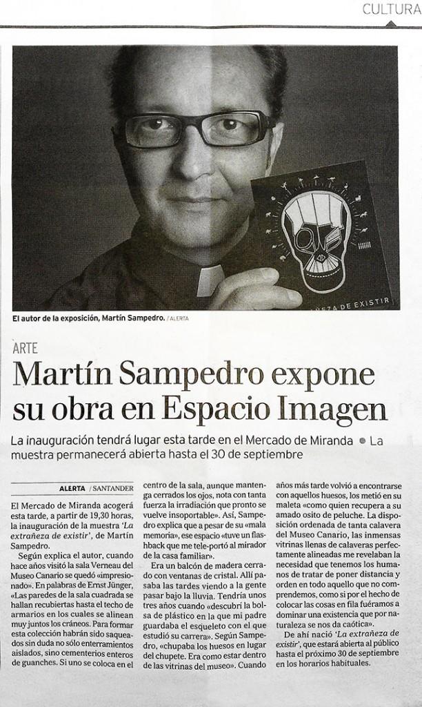 Alerta -La Extrañeza  Martin Sampedro