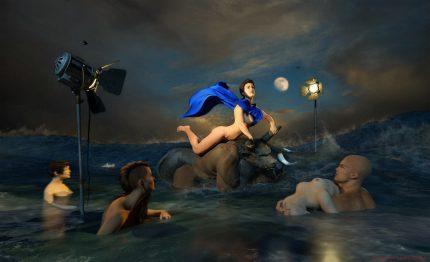 """""""El Rapto de Europa"""" Martin Sampedro. 2015"""