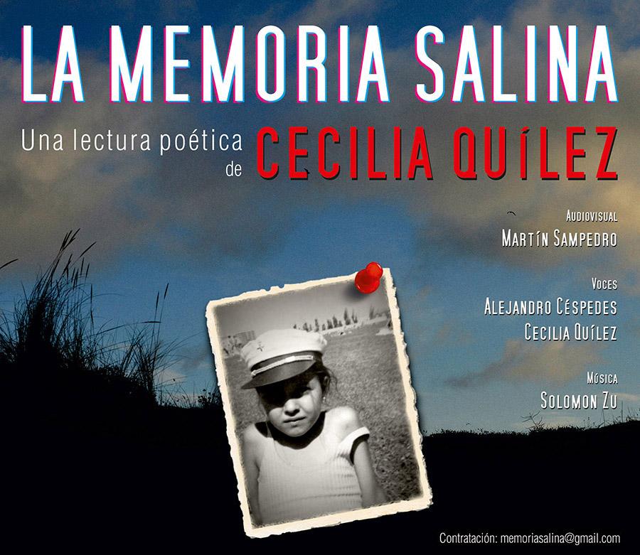 Cartel La Memoria Salina Cecilia Quilez Martin Sampedro p