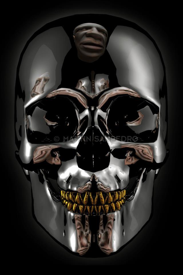 Picasso dreaming Guernika. Skull. Martin Sampedro. 2013. Martin Sampdero ©