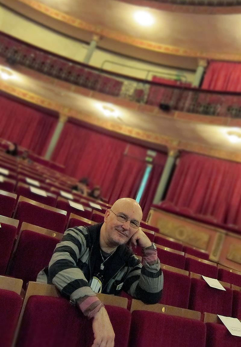 Pablo Pérez-Mínguez de de teatro. By Martin Sampedro