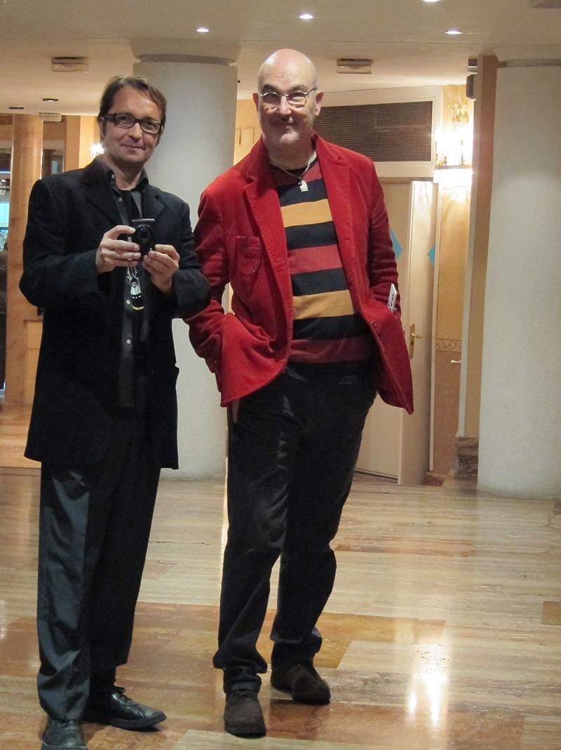 Pablo Pérez-Mínguez y Martin Sampedro