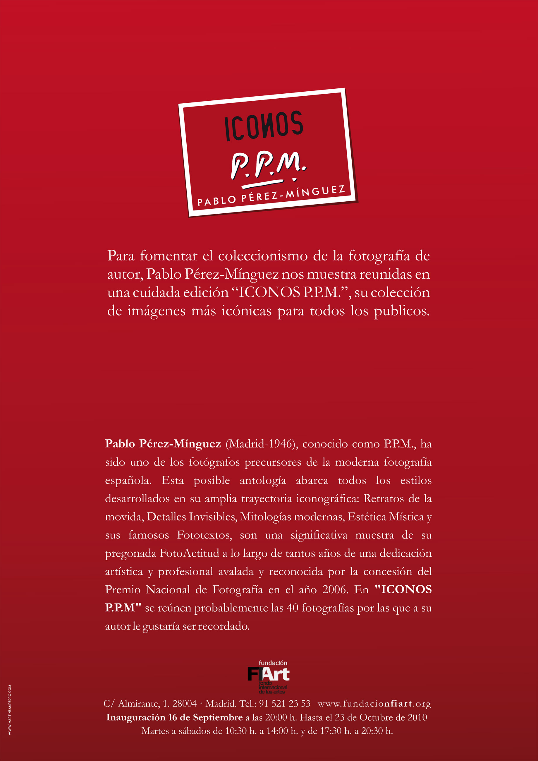 Pablo Pérez-Mínguez. PPM
