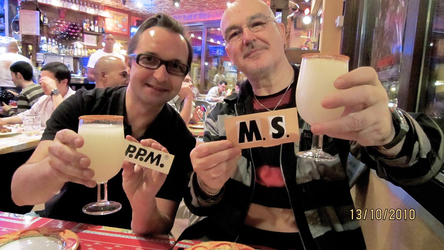 Martín Sampedro y Pablo Pérez-Mínguez