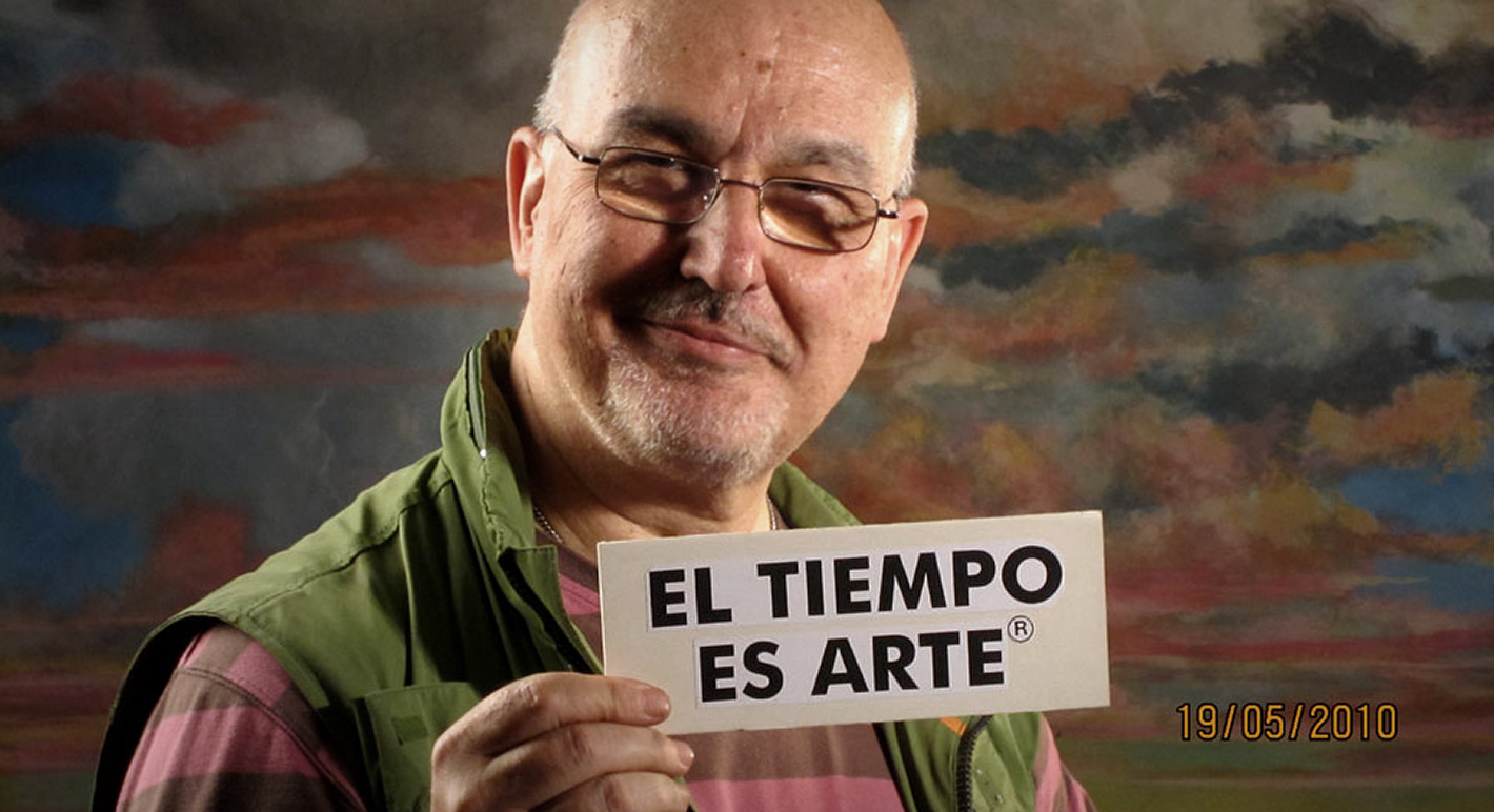 El tiempo es Arte. Pablo Pérez-Mínguez