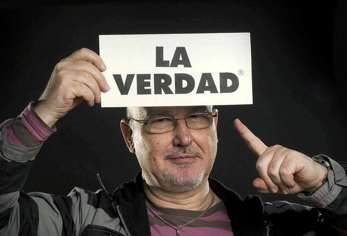 Pablo Pérez-Mínguez / La verdad By Martin Sampedro