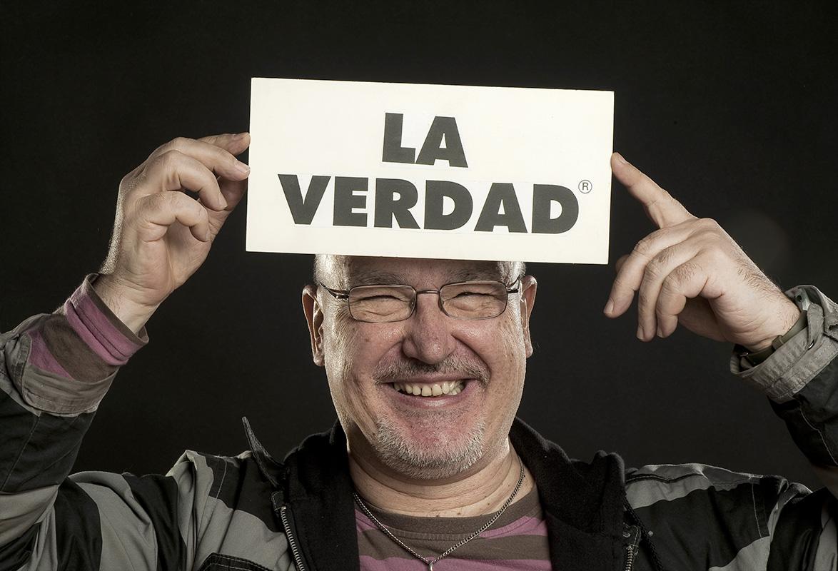Pablo Pérez-Mínguez / La verdad de risa. By Martin Sampedro